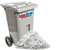 Salem Shred Container Options